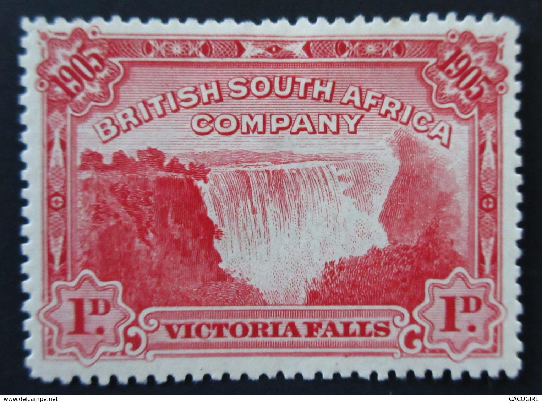 1905 British South Africa Company Yt 76 .  Opening Of Victoria Falls Bridge . Neuf Charnière - Grande-Bretagne (ex-colonies & Protectorats)