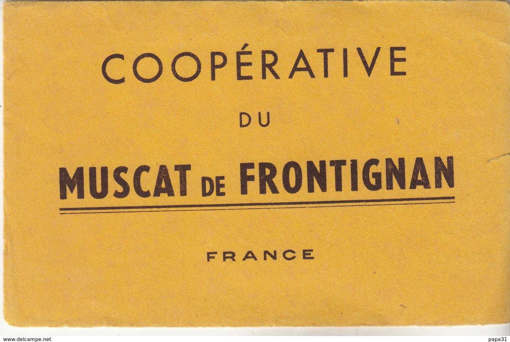 Coopérative Du MUSCAT De FROTIGNAN - Vloeipapier