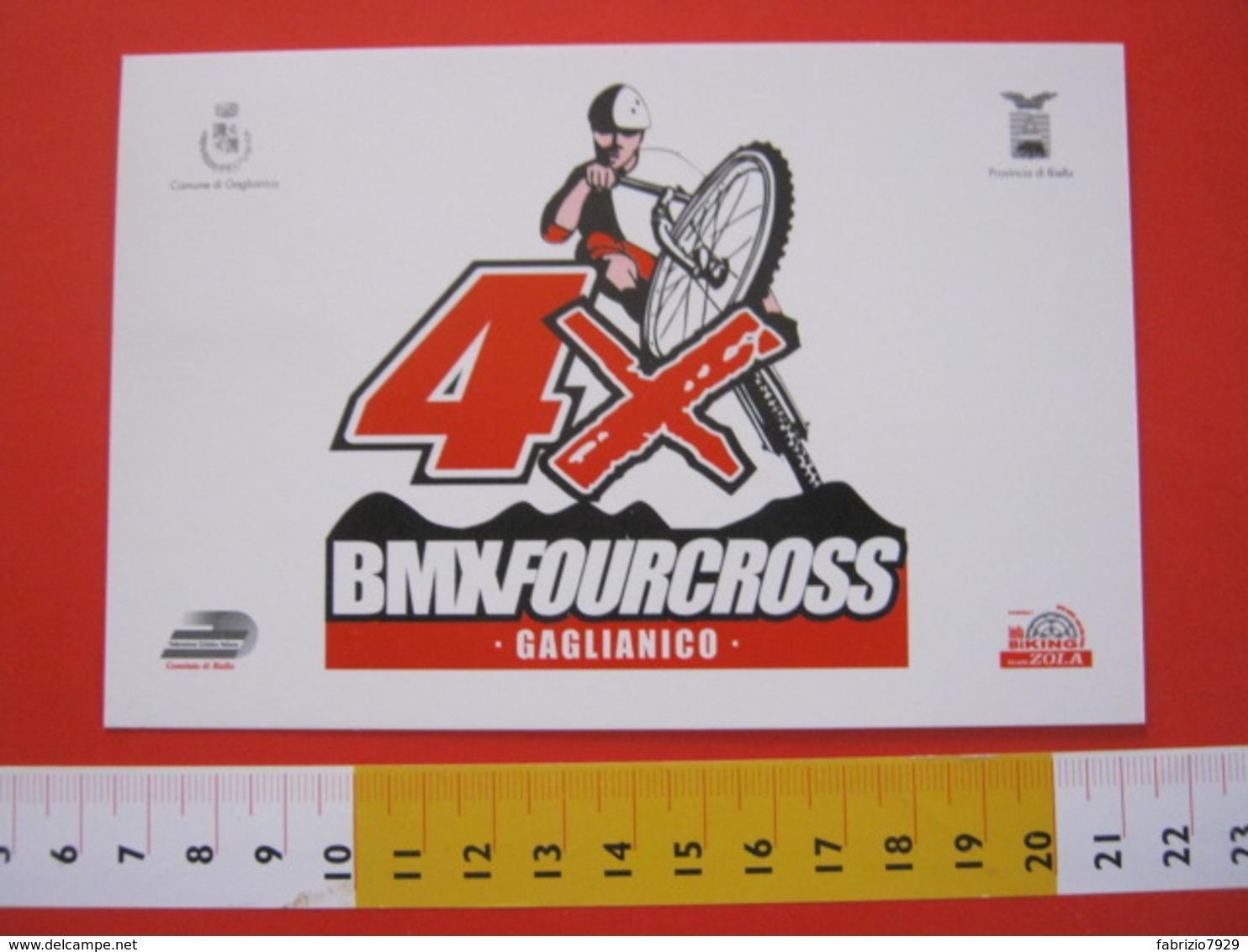 A.03 ITALIA ANNULLO - 2004 GAGLIANICO BIELLA INAUGURAZIONE PISTA MOUNTAN BIKE E BMX CICLISMO FUORI STRADA - Ciclismo