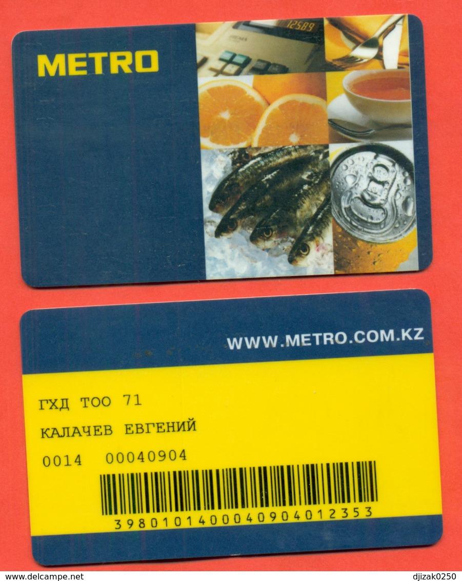 A Plastic Card. - Reclameservetten