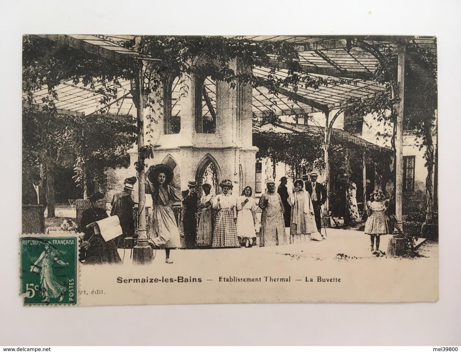 Sermaize-les-Bains - Etablissement Thermal - La Buvette - Sermaize-les-Bains