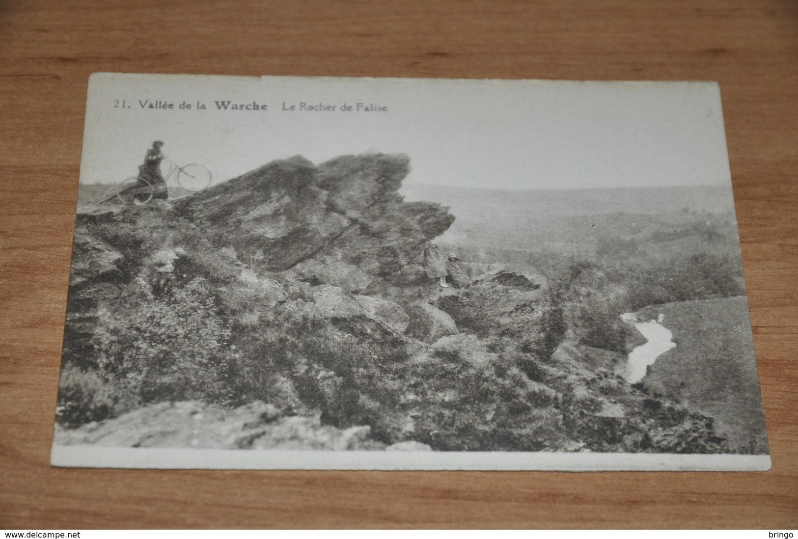 6596- VALLEE DE LA WARCHE, LE ROCHER DE FALISE - Verlaine