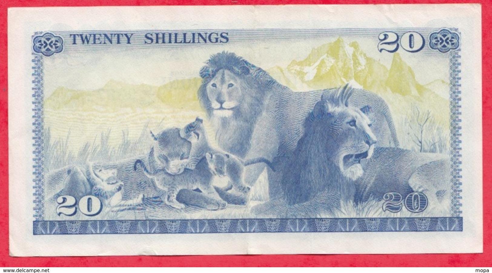 Kenya-- 20 Shillings 01/07/1978 ----XF/SUP+ - Kenya