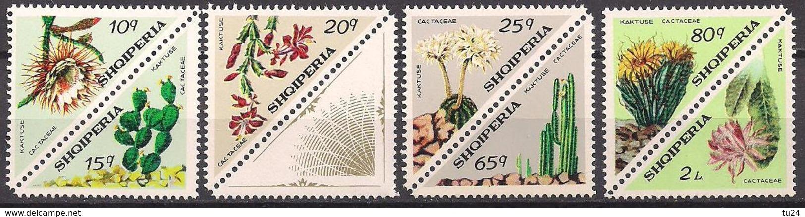 Albanien  (1973)  Mi.Nr.  1612 - 1615 + 1617 - 1619  ** / Mnh  (6ad48) - Albania