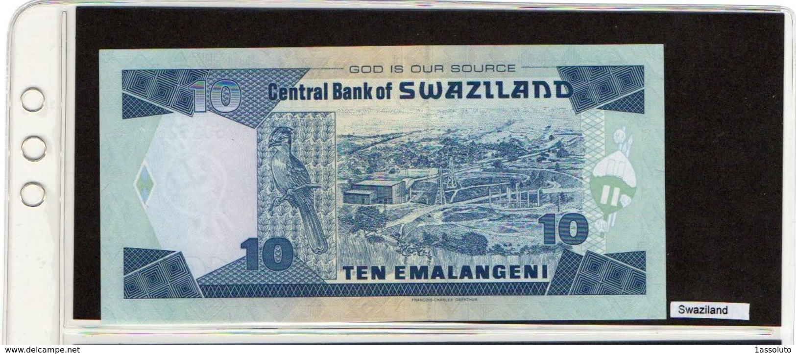 Banconota Swaziland 10 Emalangeni - Swaziland