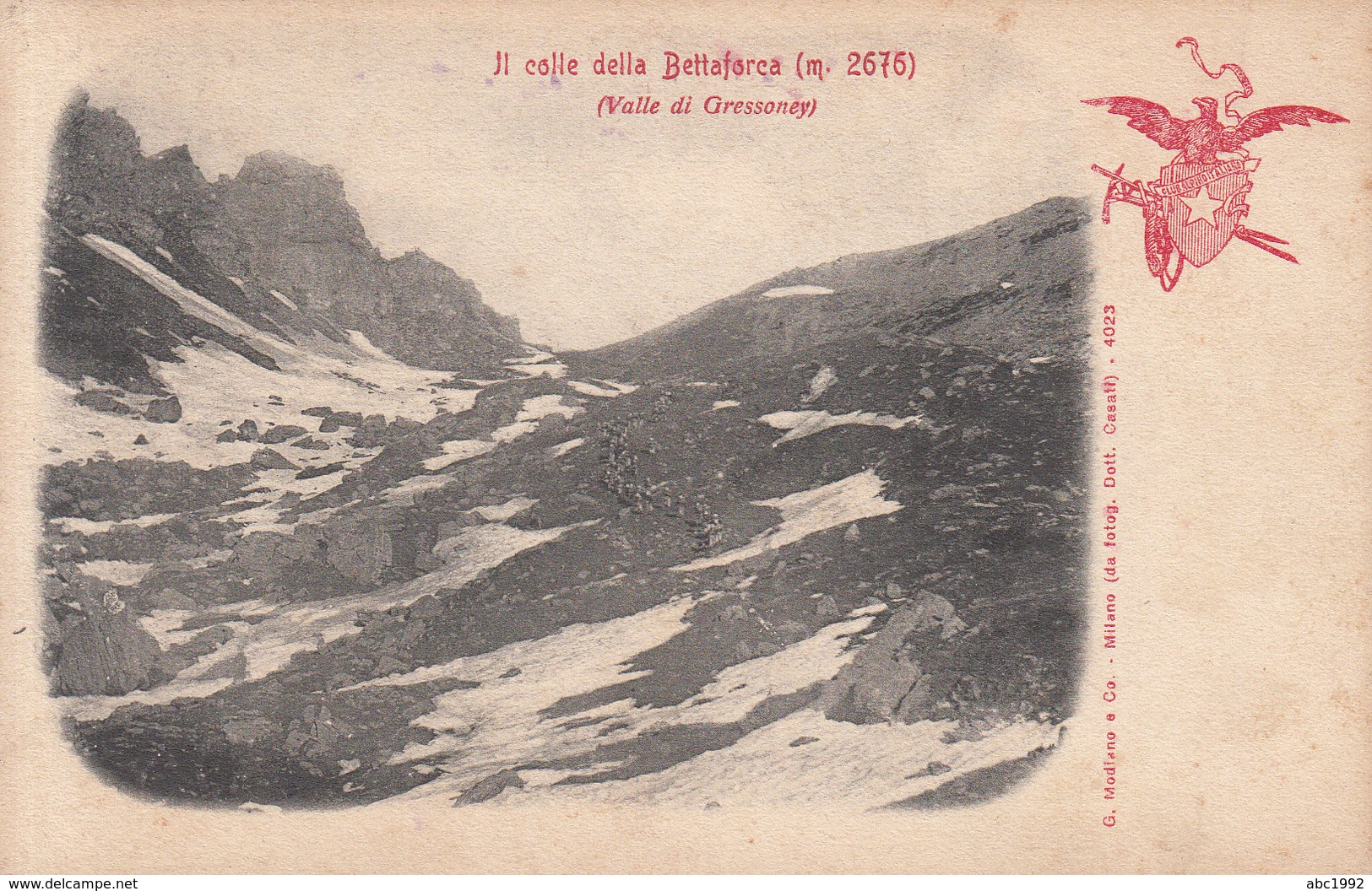185 - Gressoney - Colle Della Bettaforca - Italie
