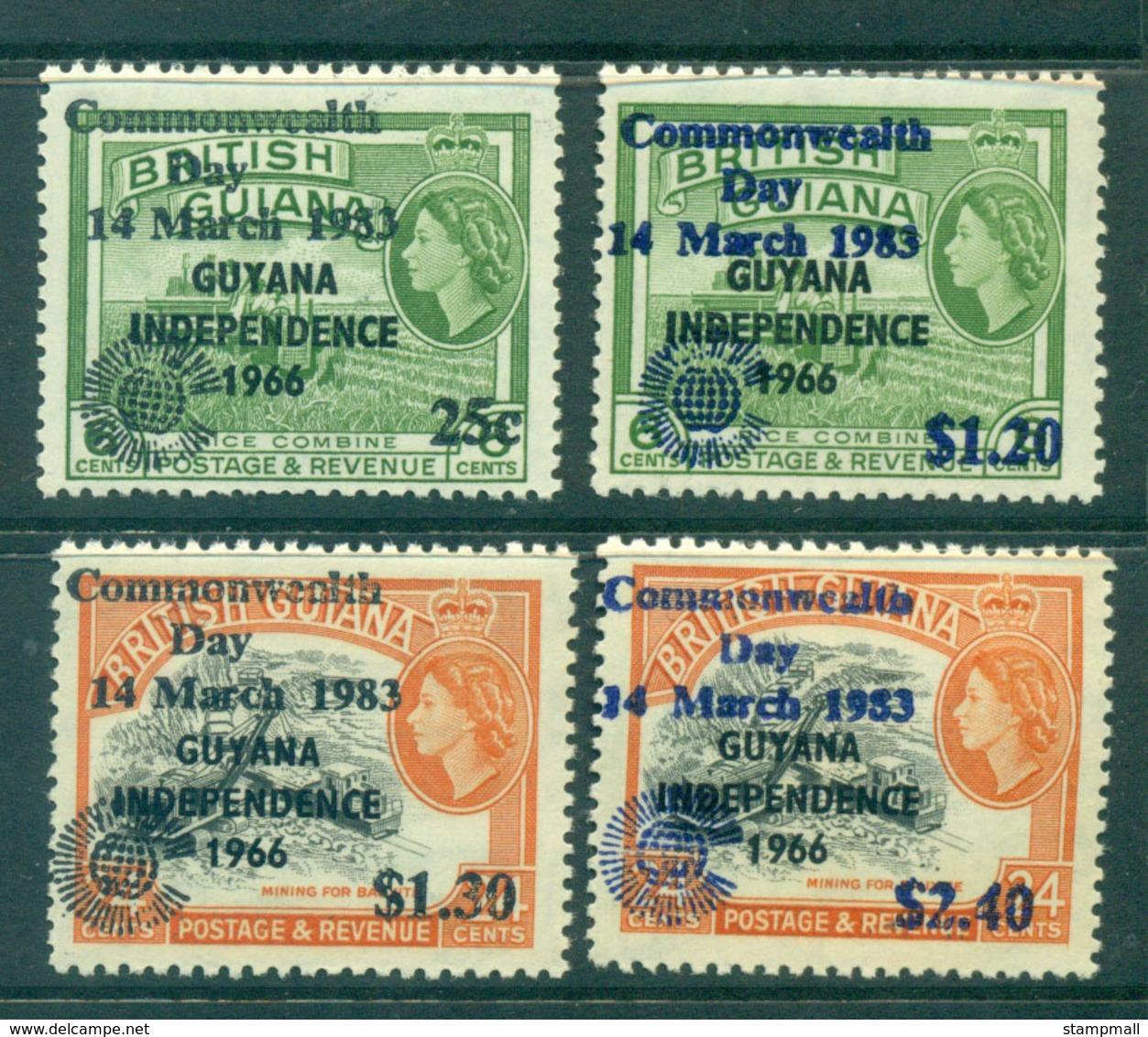 Guyana 1983 Commonwealth Day MUH Lot54624 - Guiana (1966-...)