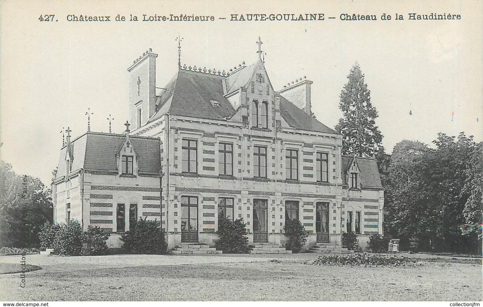 """CPA FRANCE 44 """"Haute Goulaine, Château De La Haudinière"""" - Haute-Goulaine"""