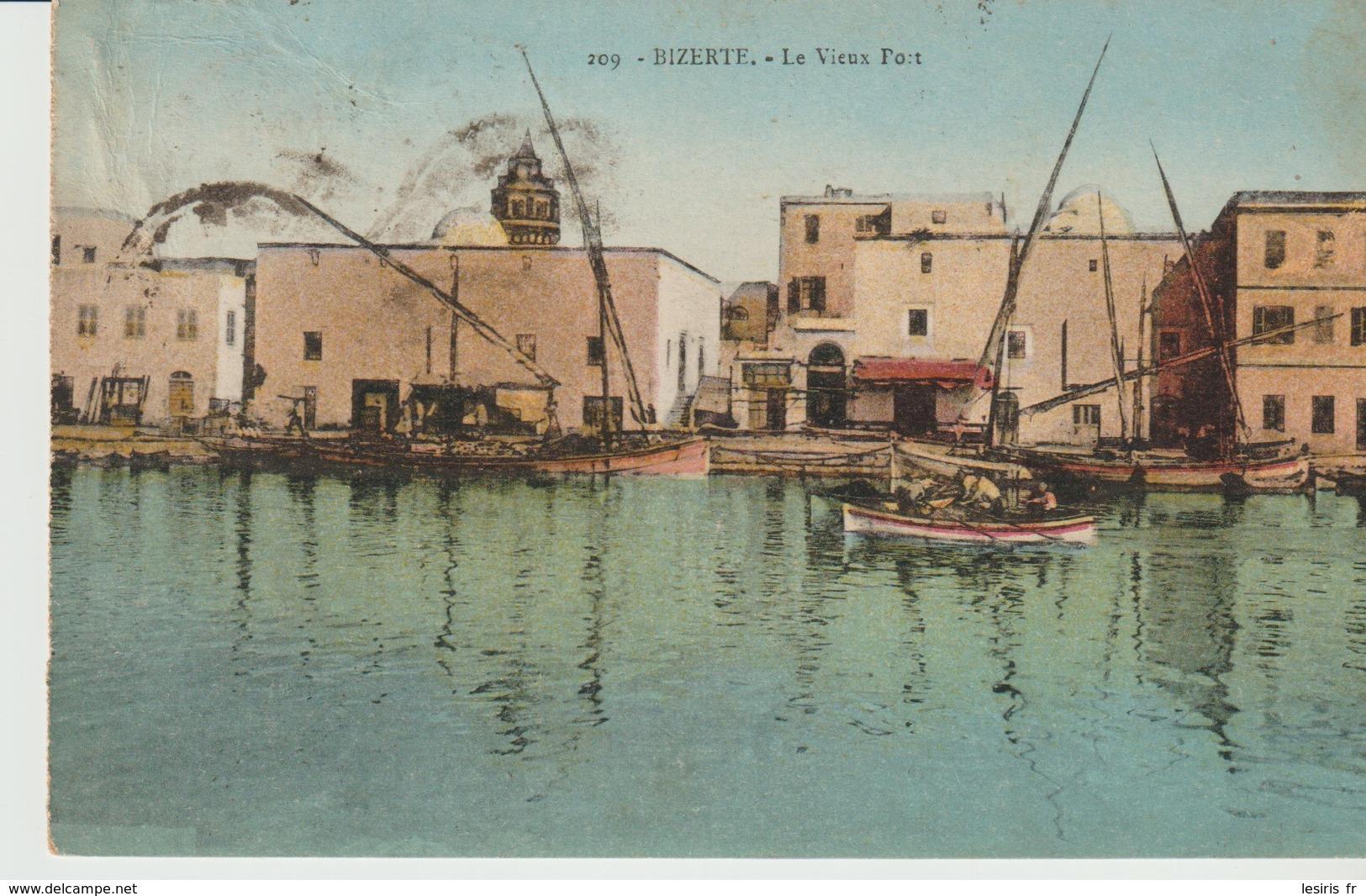 CPA - BIZERTE - LE VIEUX PORT - 209 - E. M . T . - Túnez