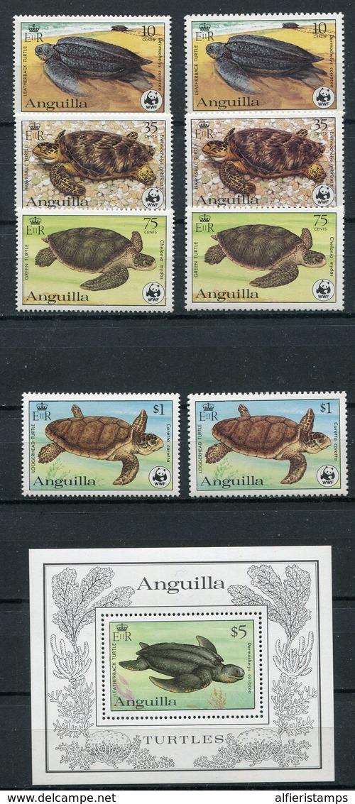 1983-ANGUILLA- RARE LOT W.W.F.-M.N.H.-LUXE ! - Anguilla (1968-...)