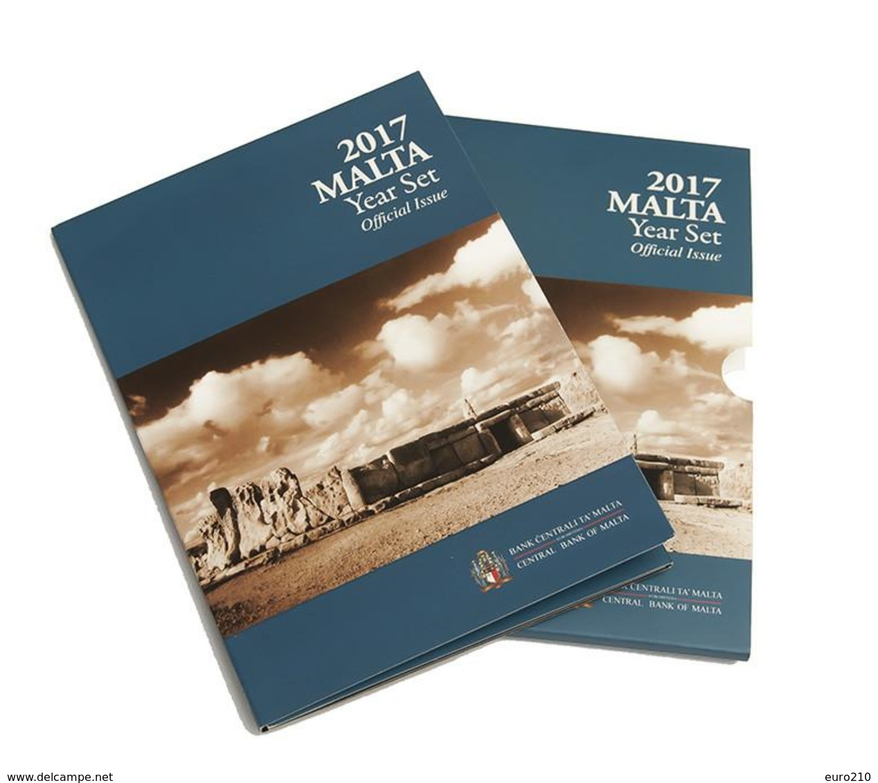 MALTA EURO COIN SET 2017 - 9 Coins - BU - With Mintmark F - Malta