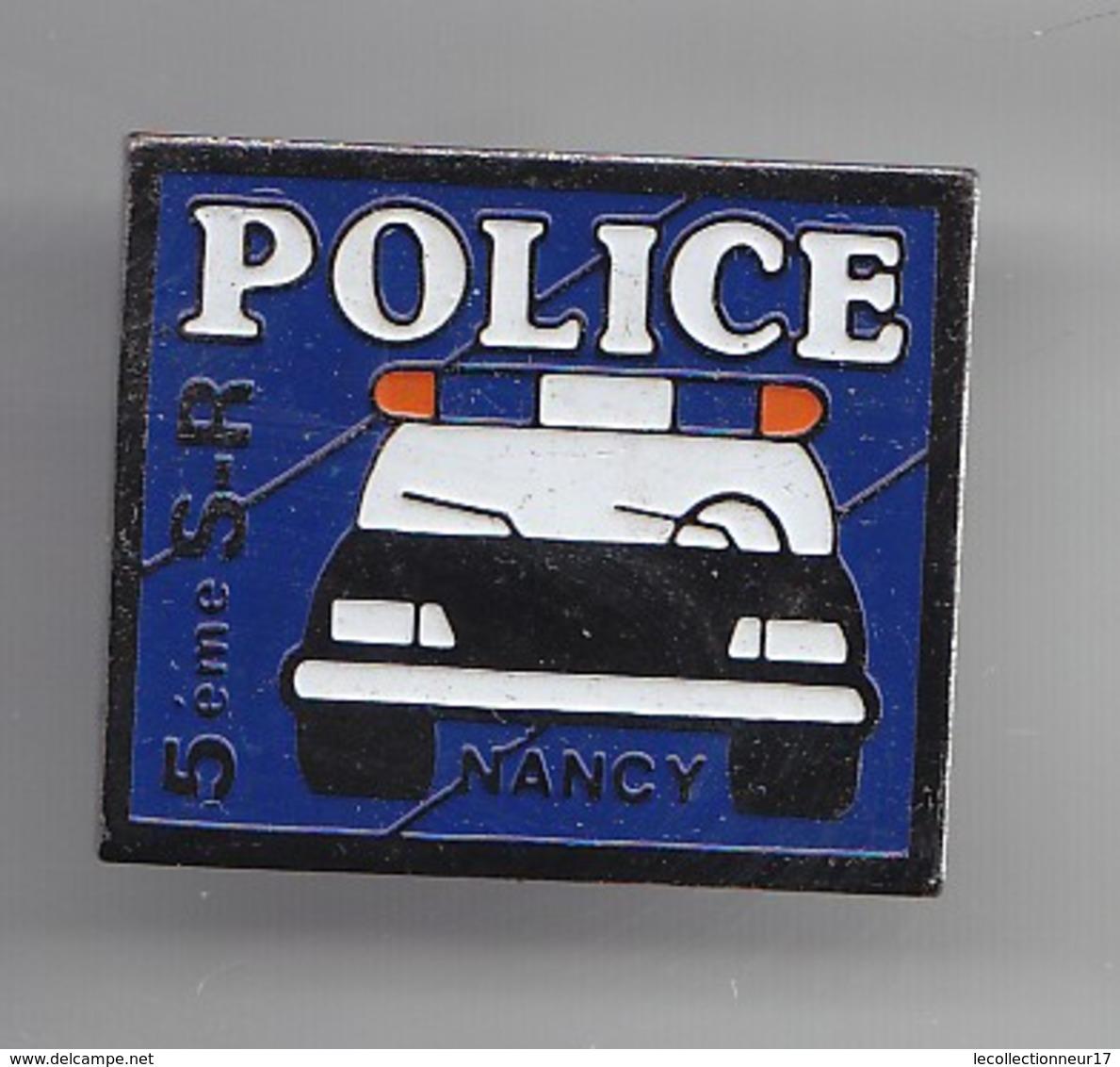 Pin's Police 5 ème SR Nancy Réf 5947 - Police
