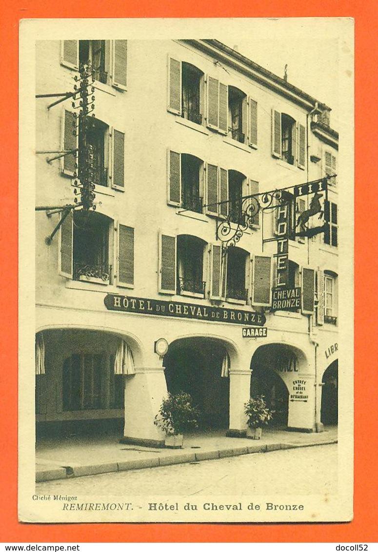 """CPA 88 Remiremont """" Hotel Du Cheval De Bronze """" - Remiremont"""