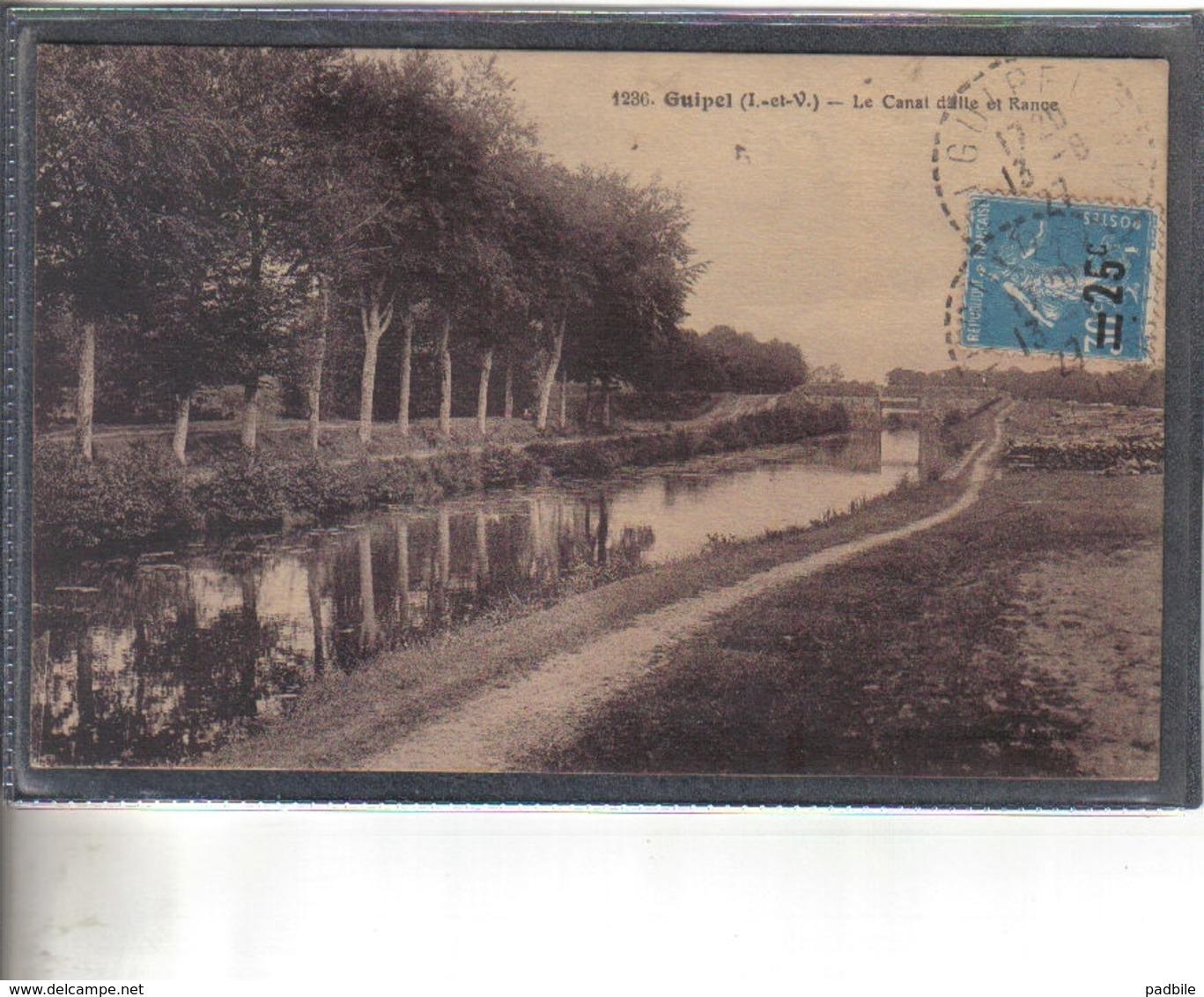 Carte Postale 35. Guipel  Très Beau Plan - France