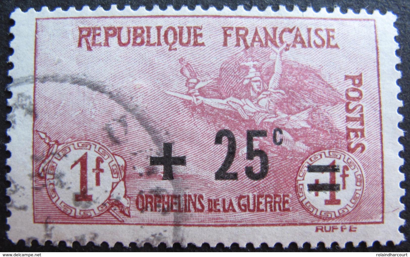 R1680/228 - 1922 - AU PROFIT DES ORPHELINS DE LA GUERRE - BLOC N°168 - CàD - Cote : 36,00 € - France