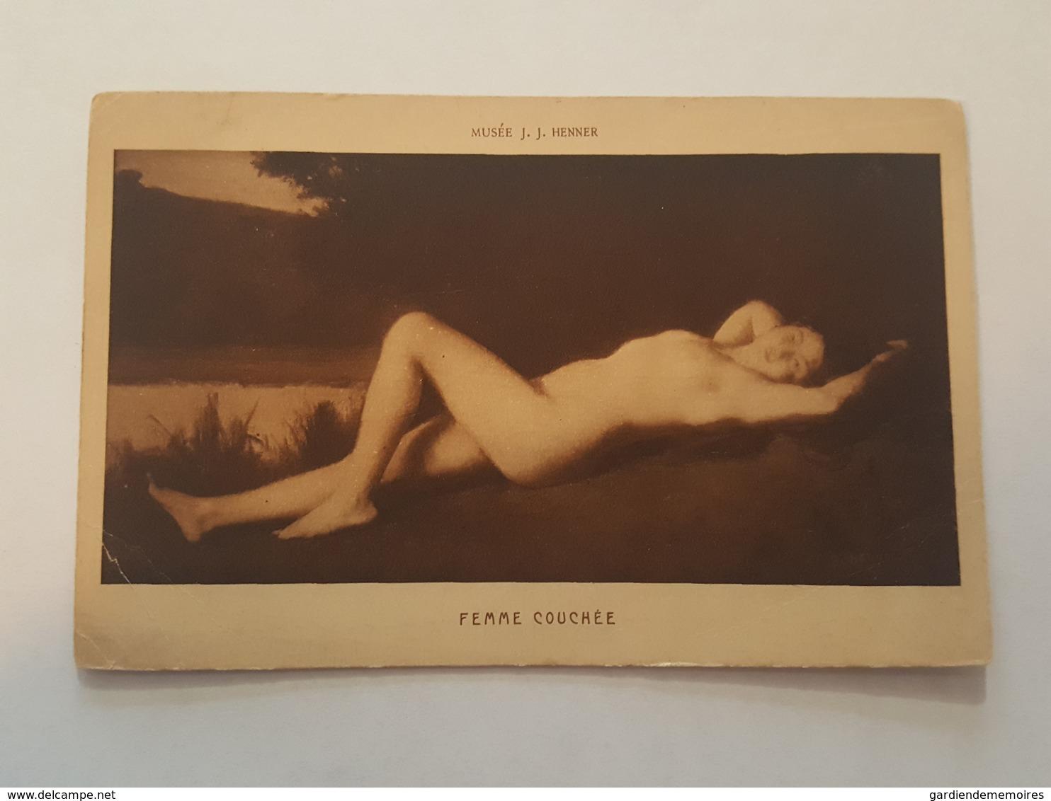 Art - Musée J.J. Henner, Femme Couchée - Femme Nu - Erotisme, Erotique, Erotica, Sexy - Tableaux