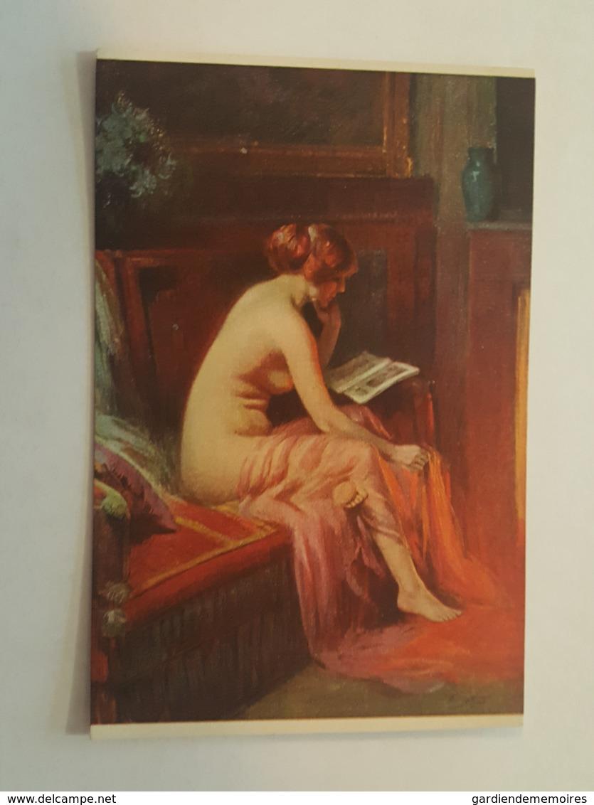 Art - Salon De Paris, D. Enjolras, Le Modèle - Femme Nu - Erotisme, Erotique, Erotica, Sexy, Charme - Tableaux