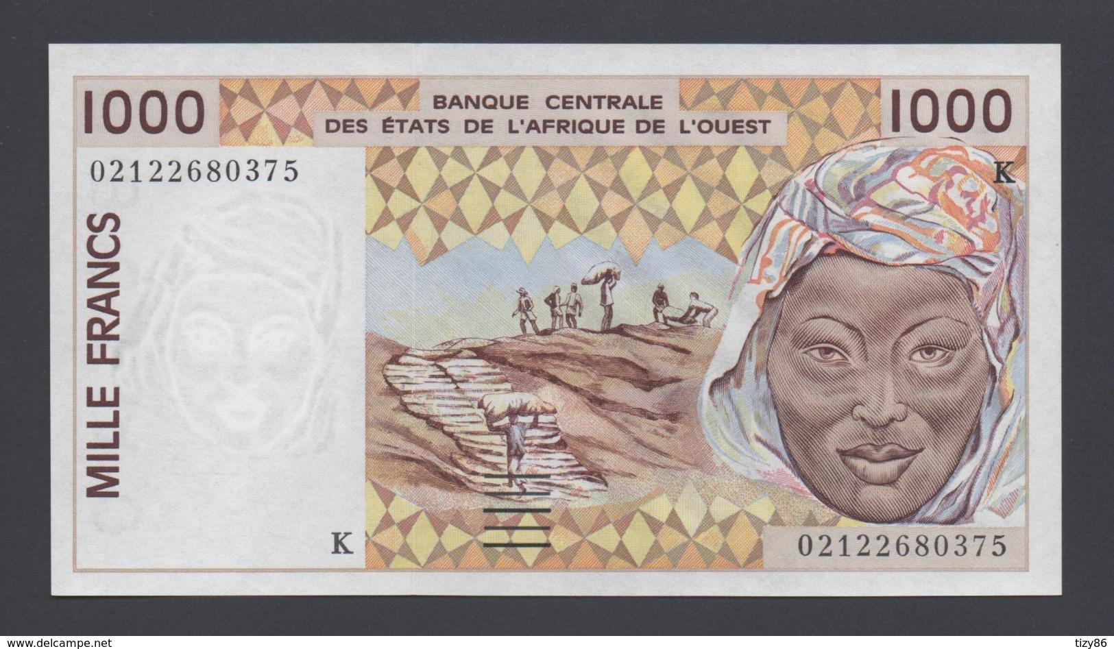 Banconota 1000 Francs - Mali Africa De L'Ovest - Mali