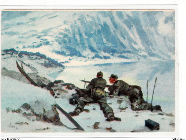 Propaganda Karte, Gebirgsjäger Vor Narvik - Weltkrieg 1939-45