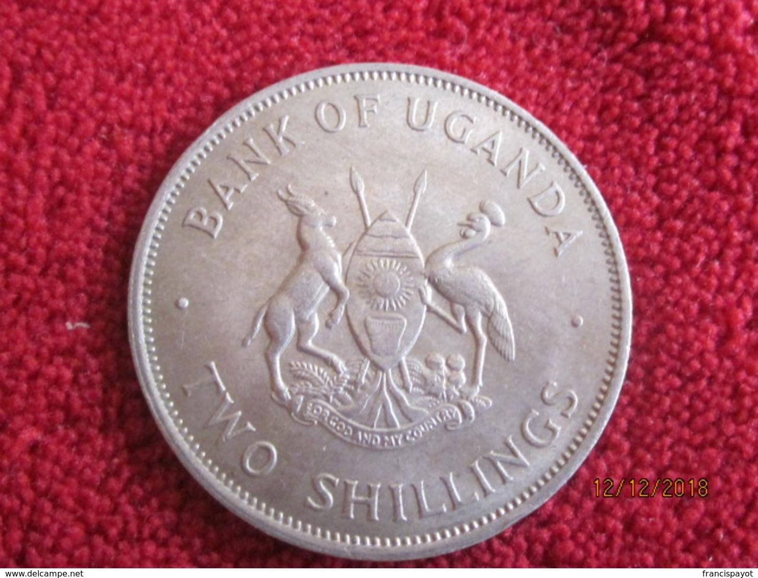 Uganda: 2 Shilling 1966 UNC - Ouganda