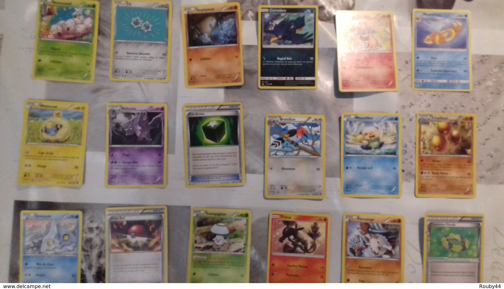 Lot 18 Cartes Pokemon - Pokemon