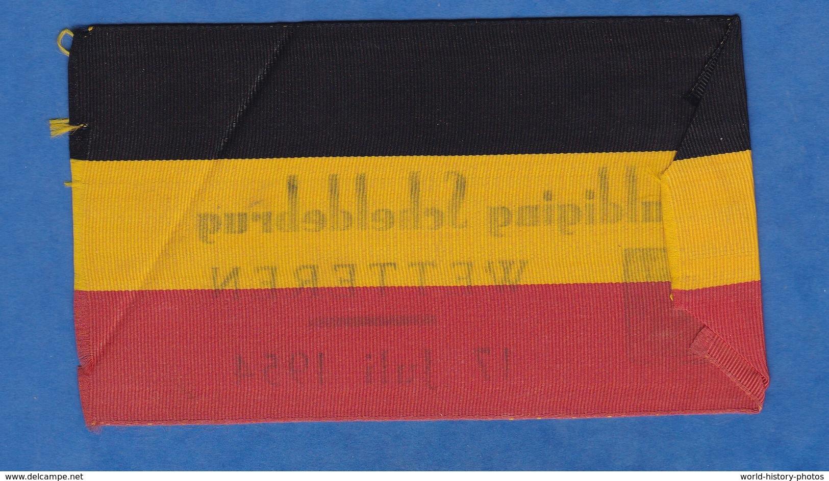 Tissu , Partie De Brassard ? - WETTEREN ( Belgique ) - Inhuldiging Scheldebrug - 17 Juli 1954 - Wetteren