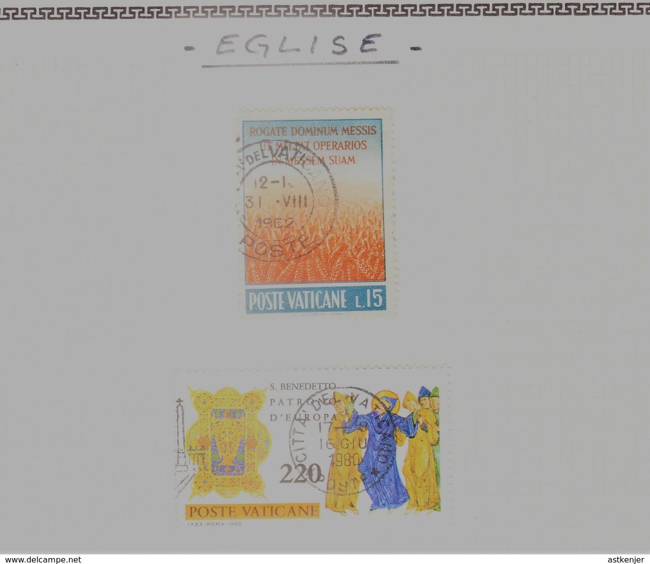 VATICAN - Collection Feuille Album - Neuf Et Oblitéré - Très Propre (1 Scan) - TOP AFFAIRE. A SAISIR !! - Vatican