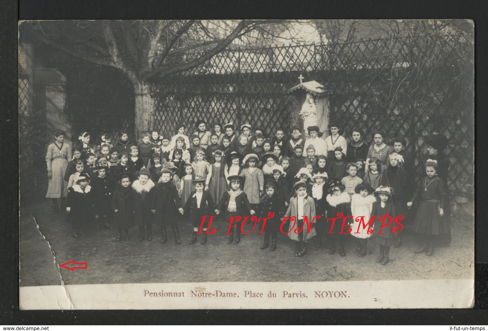 60 NOYON - Pensionnat NOTRE DAME - Place Du Parvis - Noyon