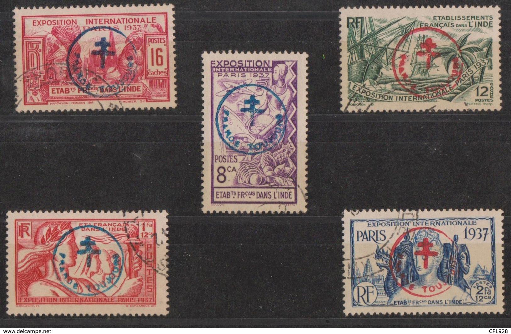 Etabl. Français Dans L'Inde N° 230 X à 230 BB Signés A. BRUN Cote: 1 750€ - India (1892-1954)