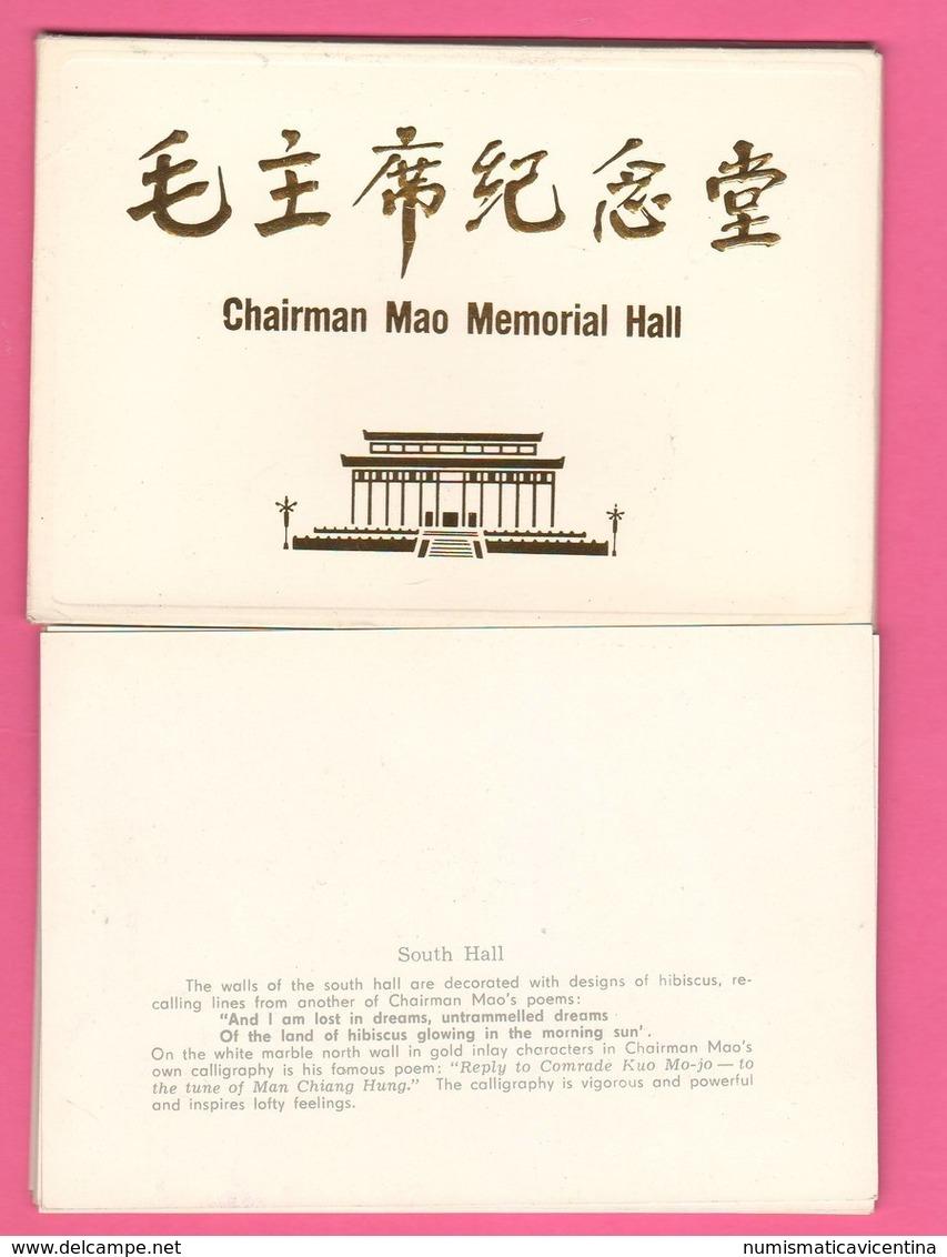 Mao Tse Tung Memorial Hall Cina China Chairman 9 Photos 1978 - Riproduzioni