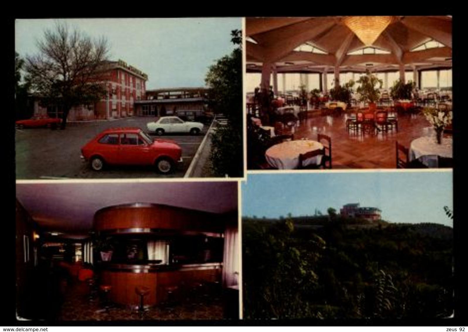 B9598 MENTANA (ROMA) - HOTEL RISTORANTE BARBA CON AUTO - Altre Città