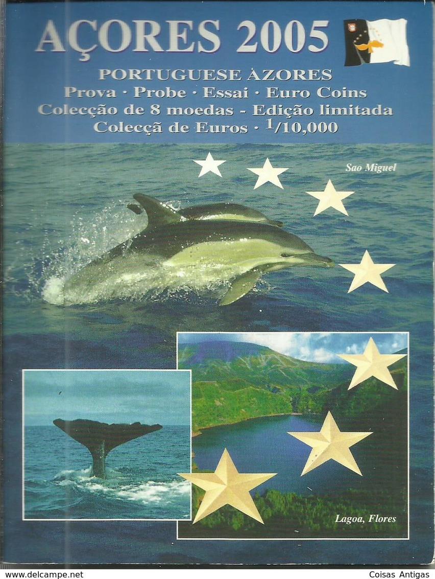 Serie Essai Euro 2005 Azores - Azores