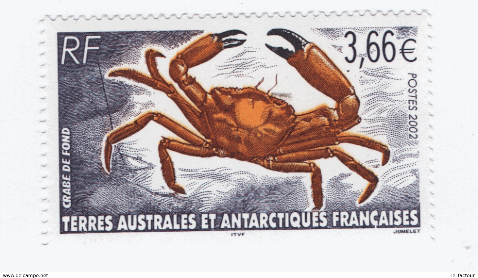 VP7L3 TAAF FSAT Neufs** MNH  Crabe 2002 N°335 - Nuovi