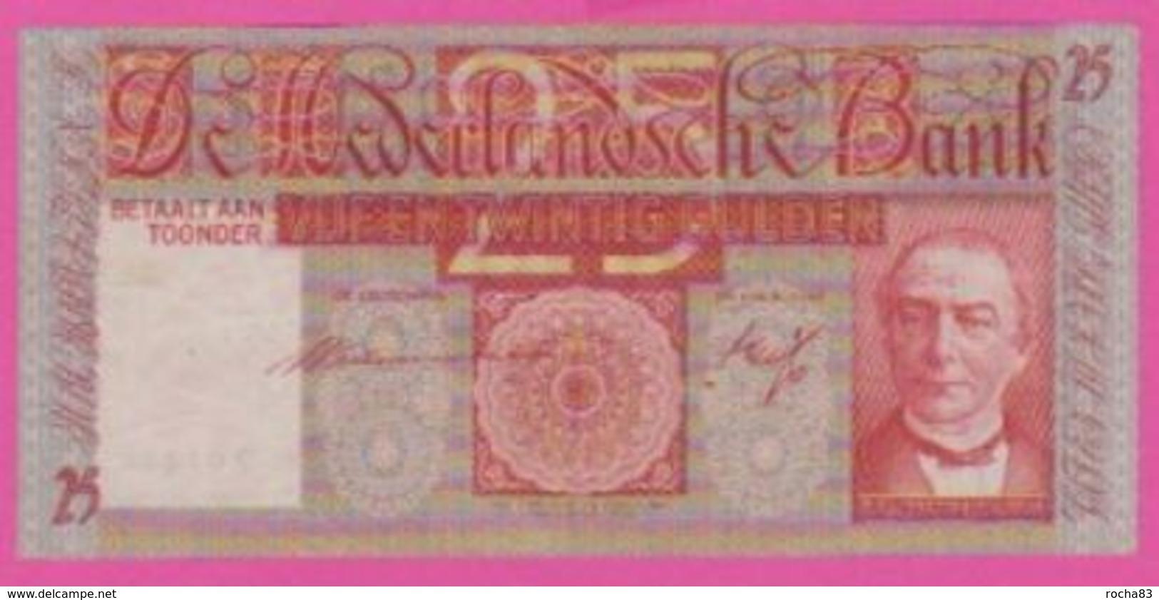 NETHERLANDS - PAYS BAS - 25 Gulden Du 20 05 1939  - Pick 50 TB+ - [2] 1815-… : Royaume Des Pays-Bas