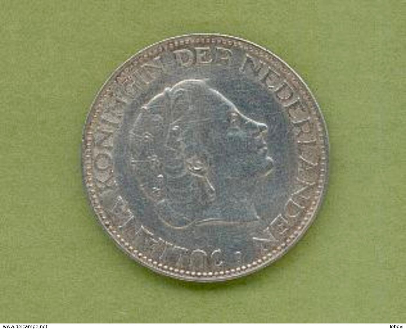 PAYS – BAS 2 ½ GULDEN 1962 Argent - 1948-1980 : Juliana
