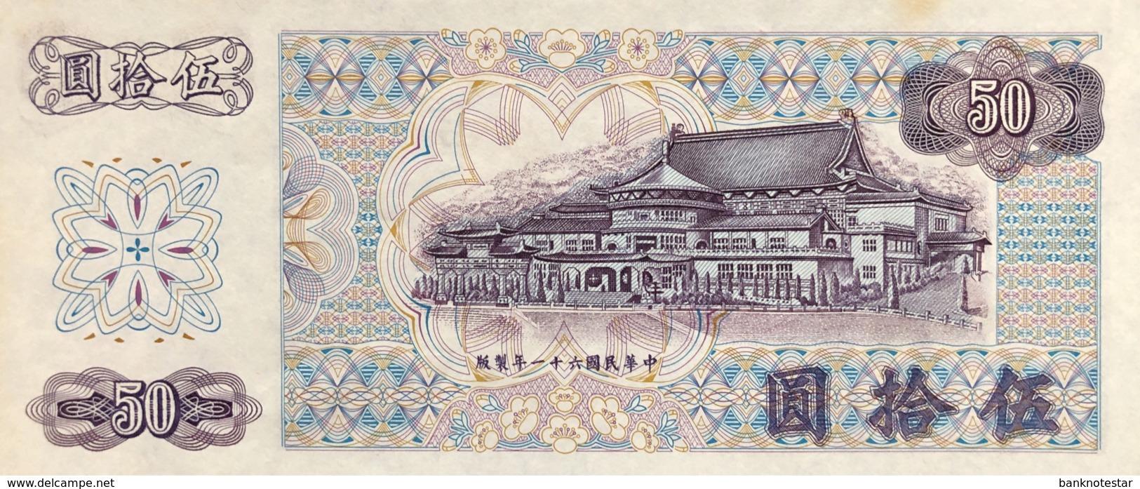 Taiwan 50 Yuan, P-1982 (1972) - UNC - Taiwan