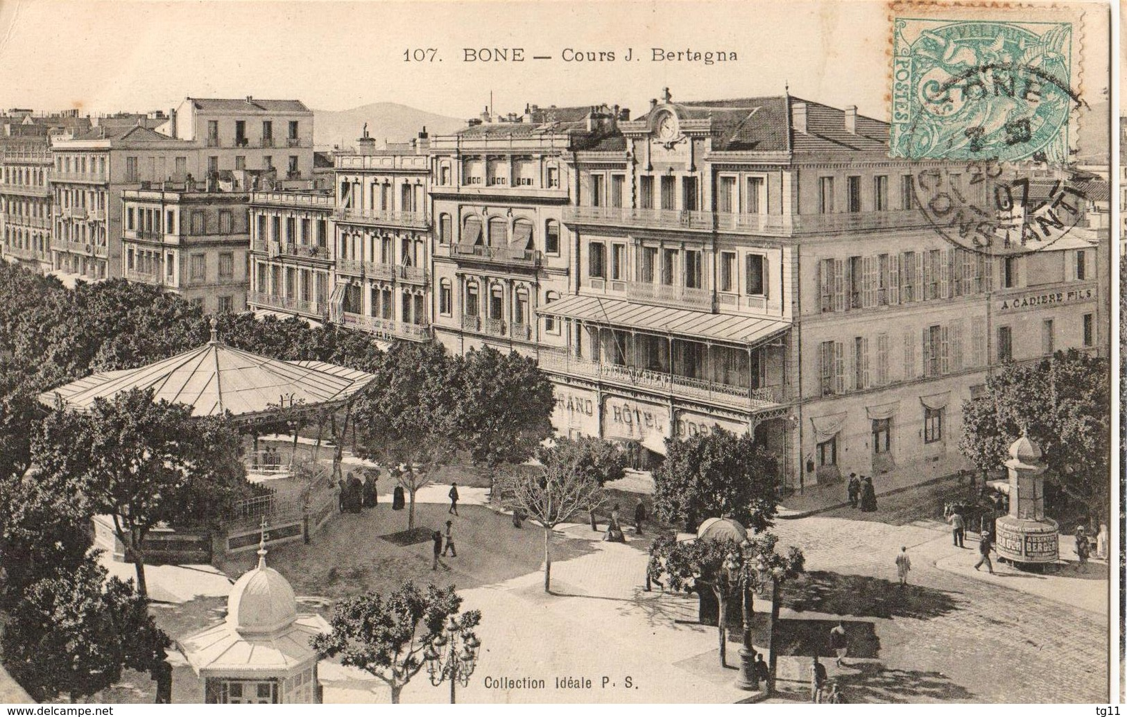 BONE - COURS J. BERTAGNA - Annaba (Bône)