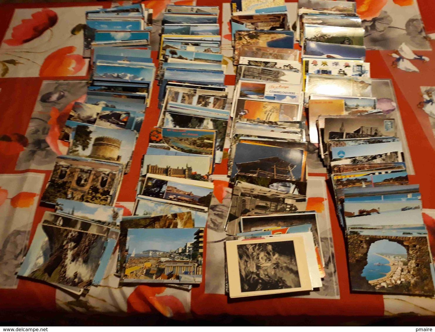 Lotcpa 435  Gros Lot De CPSM Grand Formats Uniquement Type Drouilles - Environ 600 Cartes Voir Description - Postcards