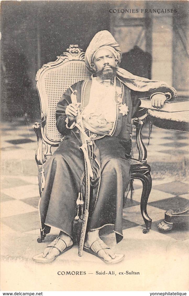 Comores / 01 - Said Ali Ex Sultan - Comores