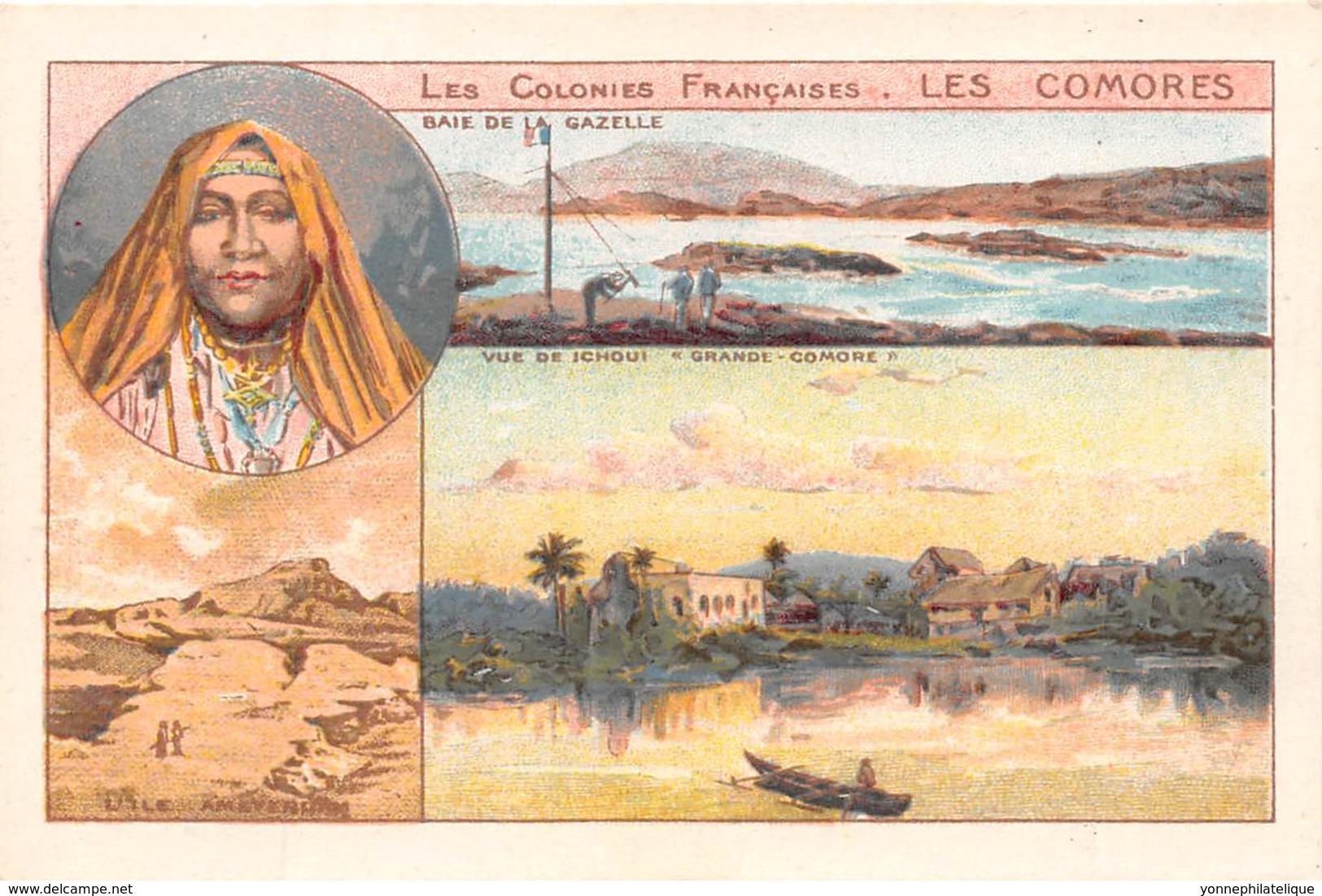 Comores / 12 - Carte Illustrée - Format 10 X 7 Cm - Comores