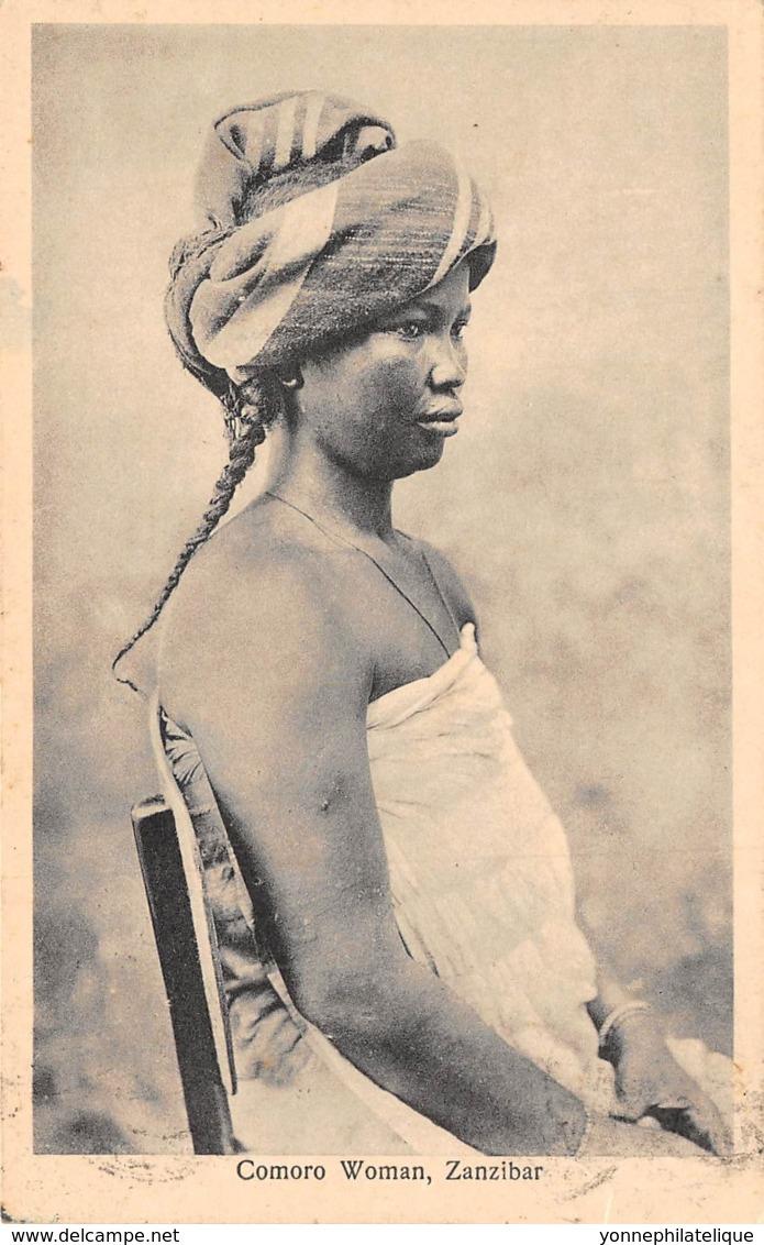 Comores / 17 - Comoro Woman - Belle Oblitération - Comores