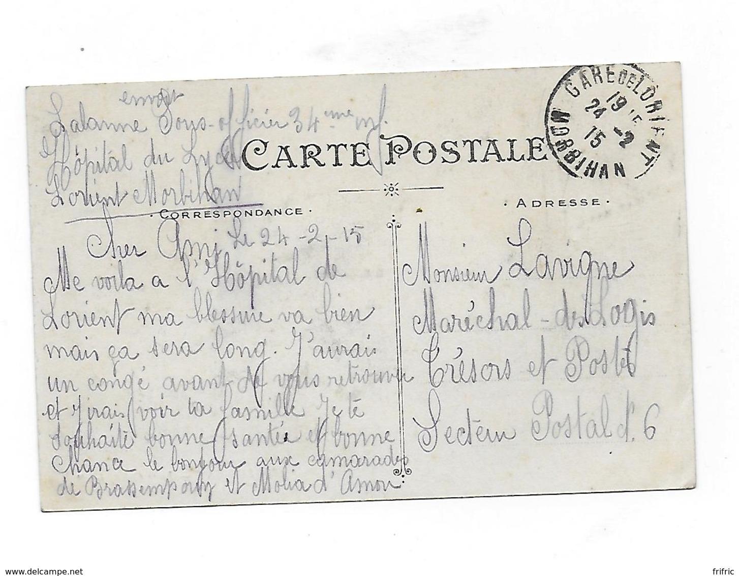 """CPA- LORIENT - LE """"Calédonien"""" - Krieg"""