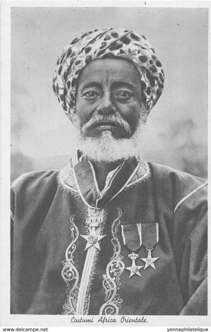 Erythrée / Ethnic - 01 - Costumi Africa Orientale - Erythrée