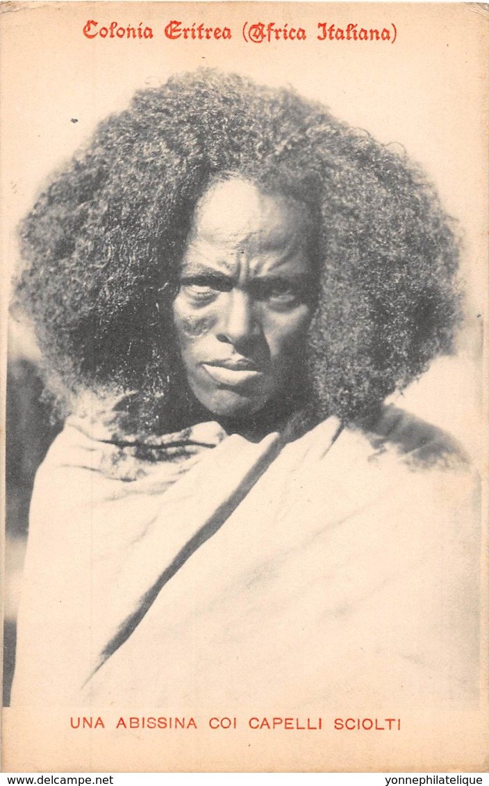 Erythrée / Ethnic - 05 - Una Abissina Coi Capelli Sciolti - Erythrée