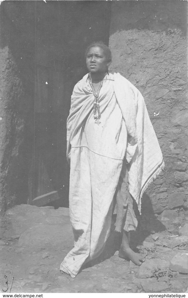 Erythrée / Ethnic - 08 - Carte Photo - Woman - Erythrée