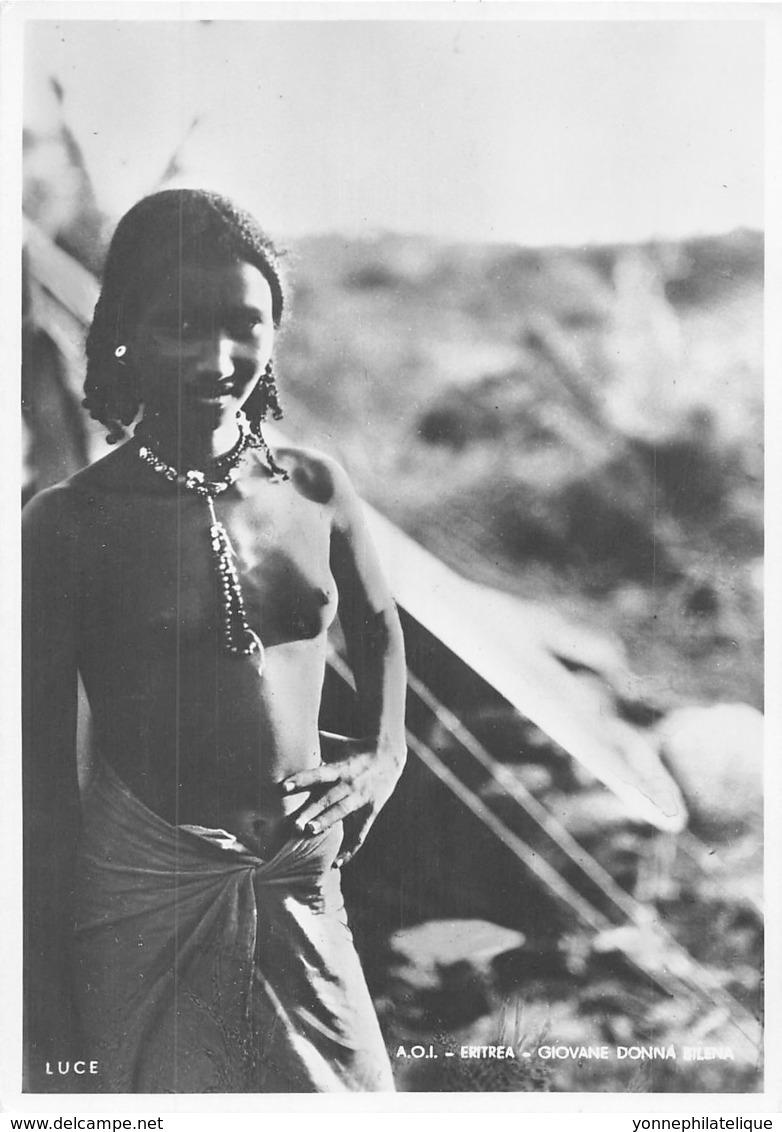 Erythrée / Ethnic - 25 - Nude Woman - Erythrée
