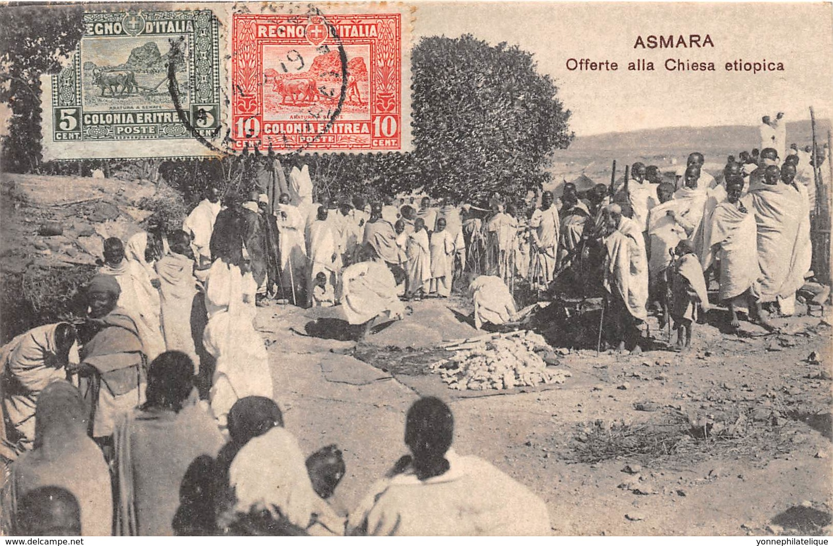 Erythrée / Topo - 33 - Asmara - Belle Oblitération - Erythrée