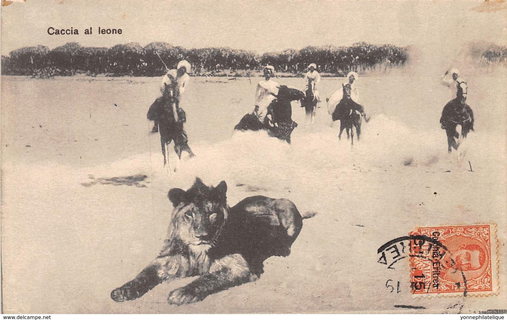 Erythrée / Topo - 44 - Caccia Al Leone - Erythrée