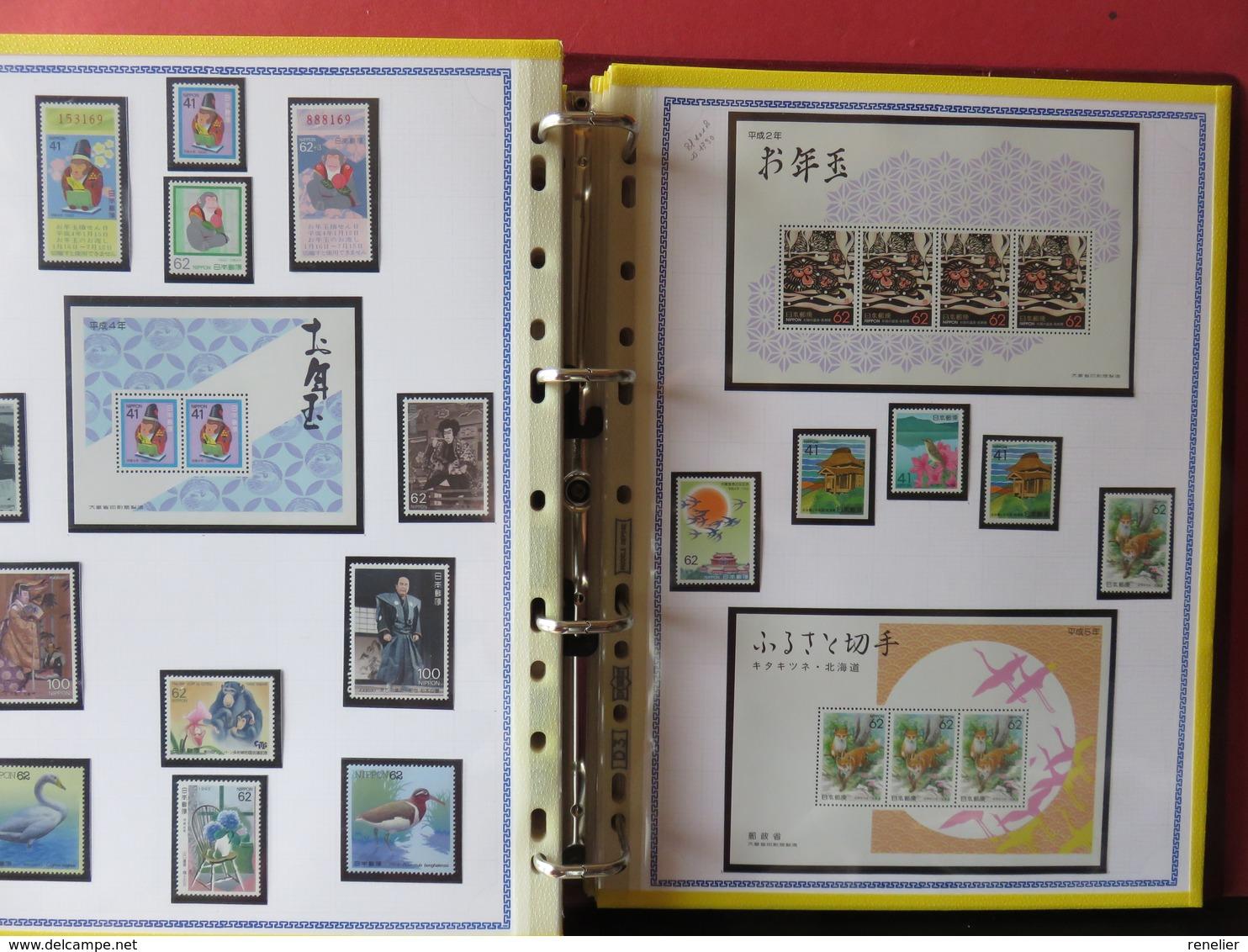 JAPON TP** Et BF** - 1983 à 1996 - ALBUM N°2 - Japon