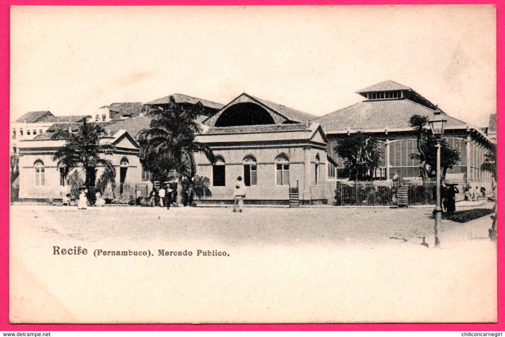 Brésil - Recife - Pernambuco - Mercado Publico - Animée - Recife